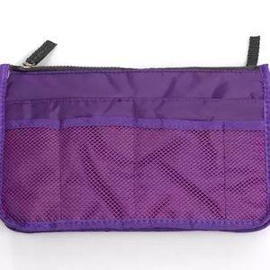 Bags - Portable Canvas Handbag Organizer
